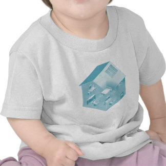 Home Local Area Network House T Shirts