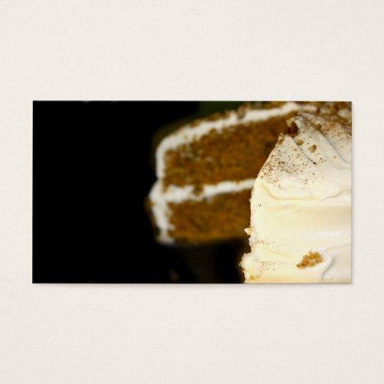 Home made cake business card