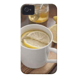 home made cold and flu remedy; lemons and honey Case-Mate iPhone 4 case