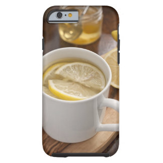 home made cold and flu remedy; lemons and honey tough iPhone 6 case