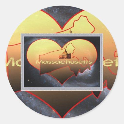 Home Massachusetts, Home Massachusetts Sticker
