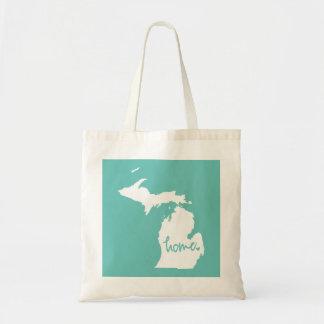 Home Michigan Custom Color Tote Bag