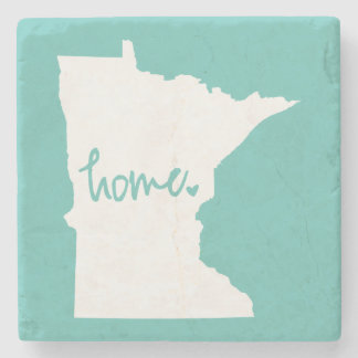 Home Minnesota Custom Color Stone Coaster