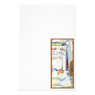 Home Mouse Cooking Customized Stationery
