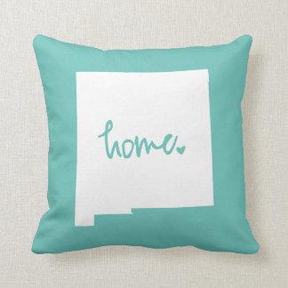 Home New Mexico Custom Color Throw Pillow