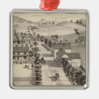 Home of Benjamin R Greeno in Rutland Christmas Ornament