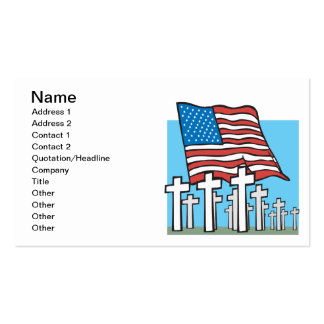 Home Of The Brave Pack Of Standard Business Cards