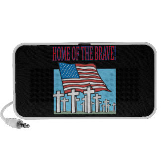 Home Of The Brave Mp3 Speakers