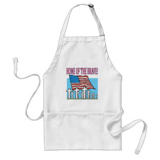Home Of The Brave Standard Apron