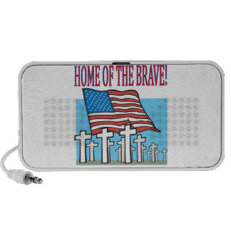Home Of The Brave Travelling Speakers