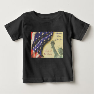 Home of the Free Baby T-Shirt