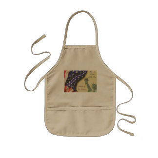 Home of the Free Kids Apron