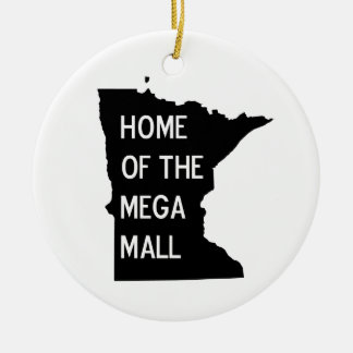 Home of the Mega Mall MN Silhouette Ornament