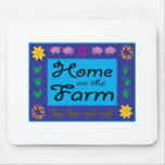 Home On The Farm Mousepads