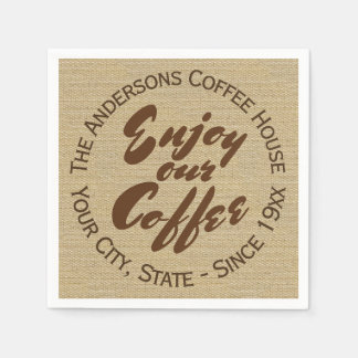 Home or Business Coffee Shop Paper Napkins