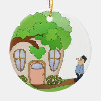 Home Owner Disaster Day Christmas Ornament