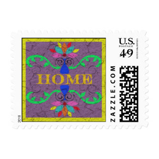 HOME Postage Stamps