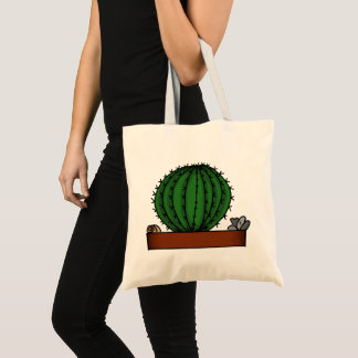 Home Potted Plants Doodle Art Tote Bag