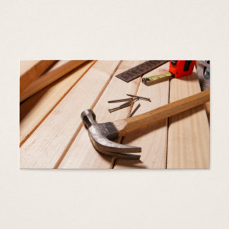 Home Remodeling/Carpentry Business Card