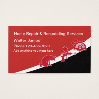 Home Repair And Maintenance Business Card