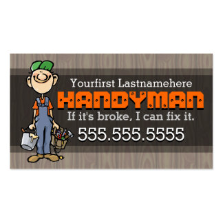 Home Repair.Handyman.Remodeling.Carpenter.Painter Pack Of Standard Business Cards