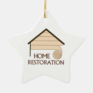 HOME RESTORATION CERAMIC STAR DECORATION