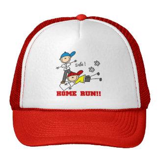 Home Run Baseball Mesh Hat
