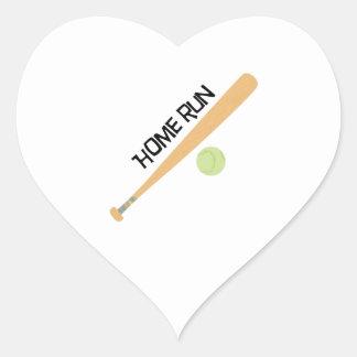 Home Run Sticker