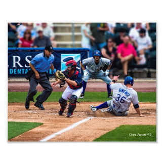 Home Run with the Iron Pigs Photo Print