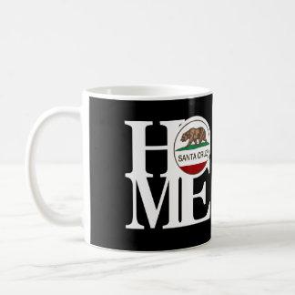 HOME Santa Cruz 11oz Black Coffee Mug