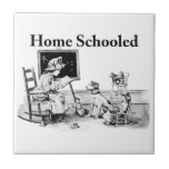 Home Schooled Clothing and Gifts Ceramic Tile