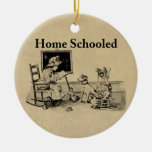 Home Schooled Clothing and Gifts Christmas Ornaments