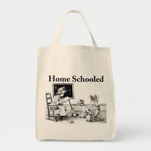 Home Schooled Clothing and Gifts Grocery Tote Bag