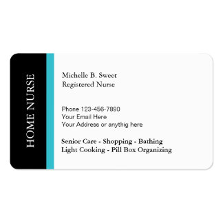 Home Senior Care Business Services Pack Of Standard Business Cards