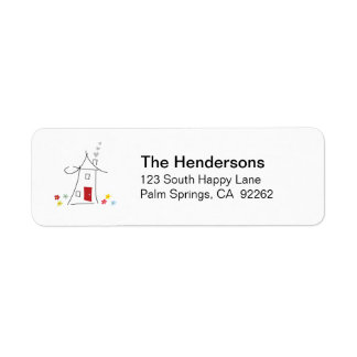 Home Swee Home address labels