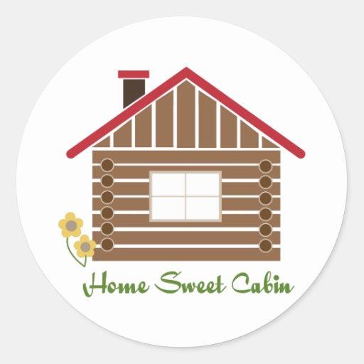 Home Sweet Cabin Sticker