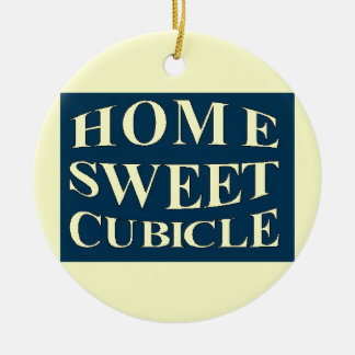 Home Sweet Cubicle Christmas Ornaments