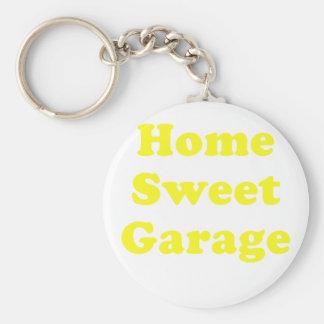 Home Sweet Garage Keychain