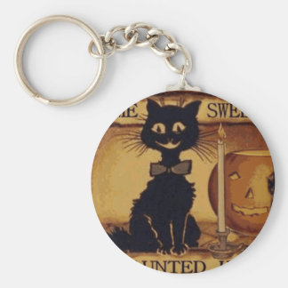 Home Sweet Haunted Home Key Ring