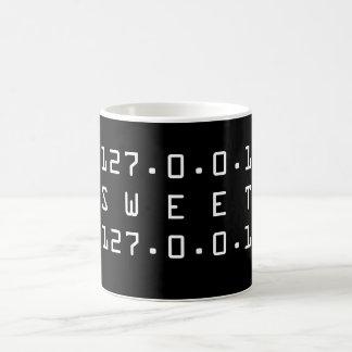 Home Sweet Home 127.0.0.1 Nerd Mug for Admins