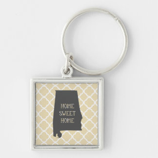 Home Sweet Home Alabama Key Ring