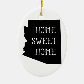 Home Sweet Home Arizona Christmas Ornament