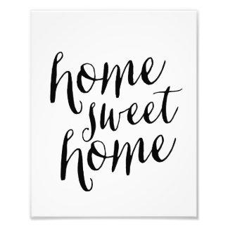 Home Sweet Home | Art Print Photo Print