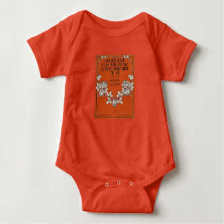 Home Sweet Home - Baby snap T - Orange T-shirt
