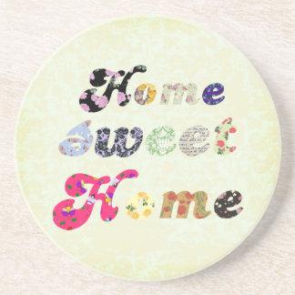 Home Sweet Home Beverage Coaster