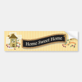 Home Sweet Home Bumper Sticker