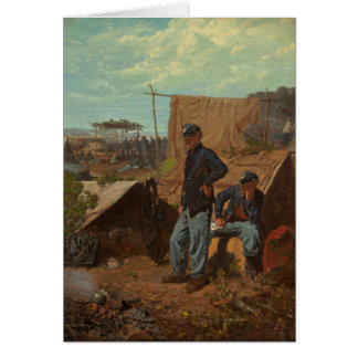 Home, Sweet Home, c.1863 (oil on canvas) Card