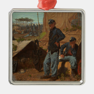Home, Sweet Home, c.1863 (oil on canvas) Christmas Ornament