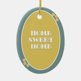Home,sweet home christmas ornament