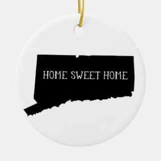 Home Sweet Home Connecticut Christmas Ornament